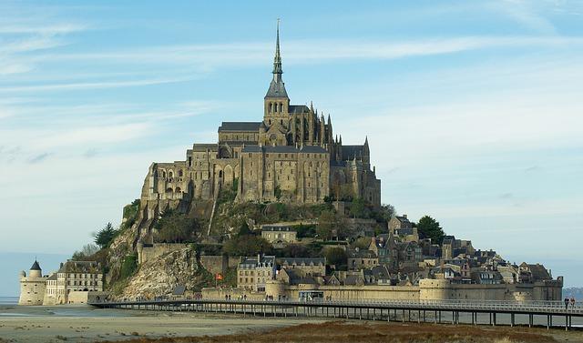 Normandie et son célèbre Mont st Michel